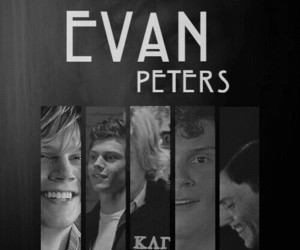 evan peters, american horror story, and gif image