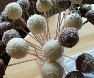 cake, cakepops, and cupcakes image