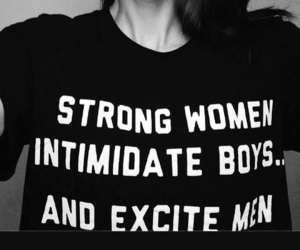female, feminism, and strong image