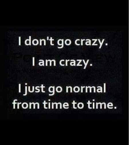 Crazy Is The New Normal On We Heart It