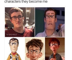 boys, characters, and glasses image