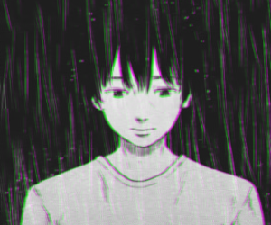 aesthetic, anime, and boy image