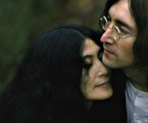 1968, john lennon, and Yoko Ono image