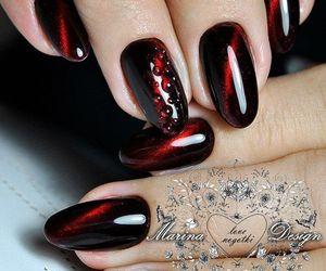 nail polish, nails, and nail designs image