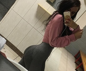 booty, butt, and lifting image