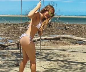 beach, girl, and luisa sonza image
