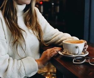 autumn, blogger, and coffee image