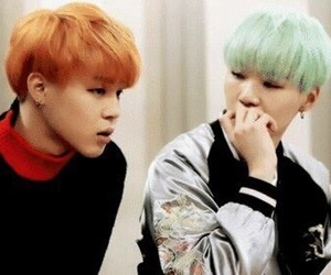 bts, suga, and yoonmin image
