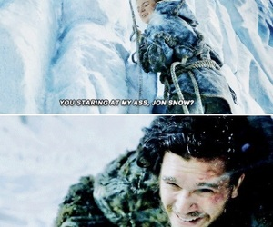 got, jon snow, and game of thrones image