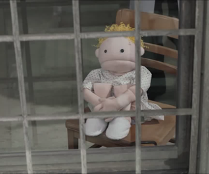 commercial, prison, and puppet image