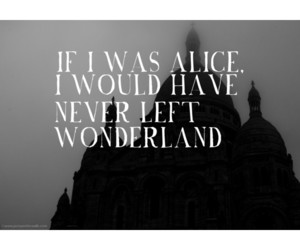 alice, black and white, and help image