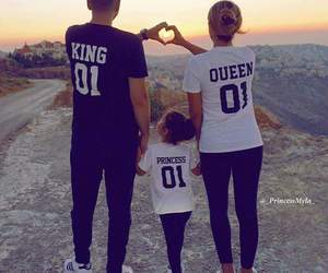 family, love, and king image