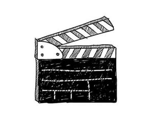 overlay and movie image