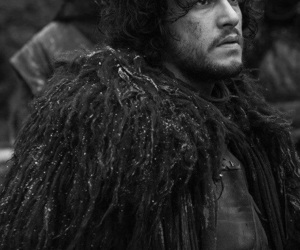 jon snow, got, and winter is coming image