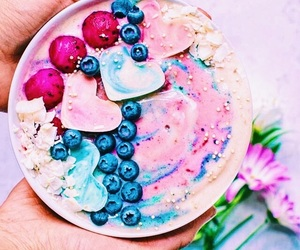 fruit, food, and blue image