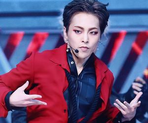 black and white, exo, and xiumin image