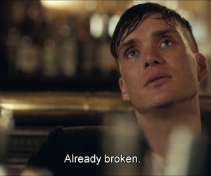 peaky blinders, cillian murphy, and quote image