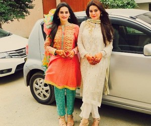 aiman khan, minal khan, and pakistani image