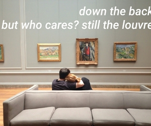 quotes, the louvre, and lorde image