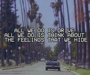 alternative, drive, and Lyrics image