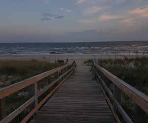 aesthetic, beach, and boardwalk image