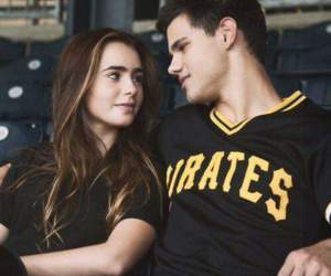 Taylor Lautner, lily collins, and abduction image