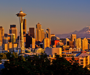 seattle, city, and beautiful image