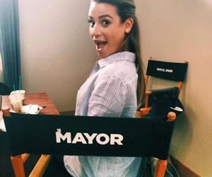 actress, lea michele, and mayor image