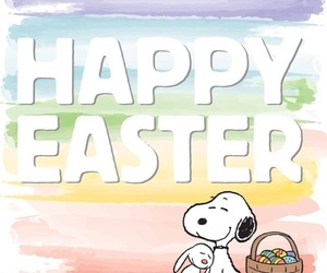 snoopy and easter image