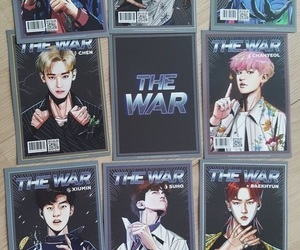 card, exo, and kpop image