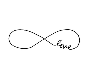 love, infinity, and forever image