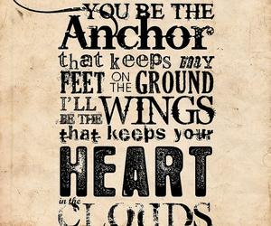 anchor, heart, and Lyrics image