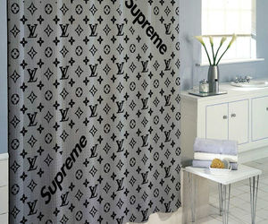 fashion, shower curtain, and fall 2017 image