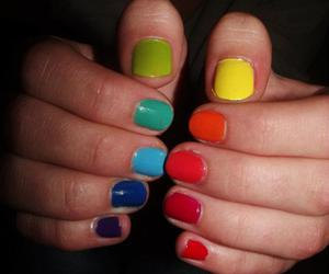 beautiful, colours, and hands image