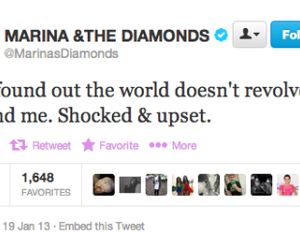 funny, marina and the diamonds, and tweet image