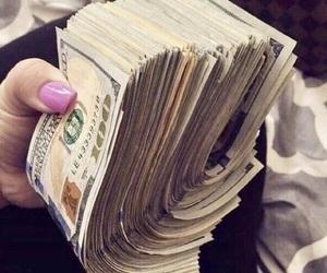 money, dollars, and luxury image