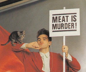 the smiths, morrissey, and meat is murder image