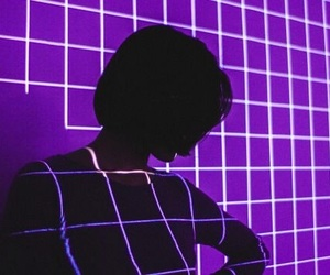 purple, neon, and tumblr image
