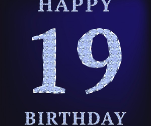 19, 19th, and birthday image