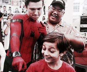 icons and tom holland image