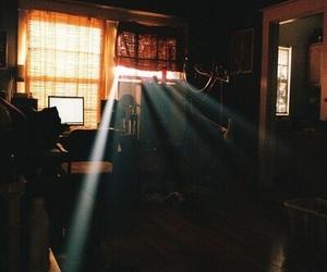 light, room, and vintage image