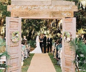 wedding, weddingideas, and husbandandwife image