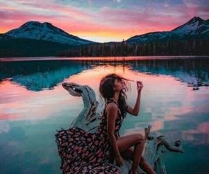 aesthetic, bikini, and pink image