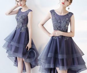 cocktail dress, fashion, and girls image