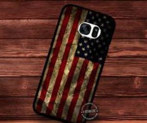 american flag, phone cases, and samsunggalaxys6edge image