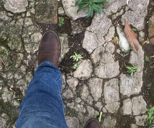 boots, Cowgirl, and dirt road image
