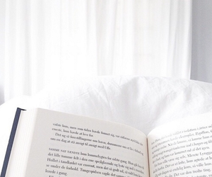 white, book, and relax image