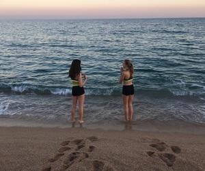 athletics, spain, and beach image