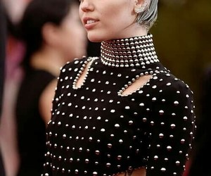 blue hair, miley cyrus, and celebrities image