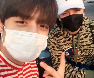 Seventeen, vernon, and s.coups image